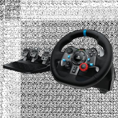 LOGITECH gejmerski volan DRIVING FORCE G29 (Crni) - 941-000112  Sekvencijalni menjač, Gas, kočnica i kvačilo, Windows, PlayStation