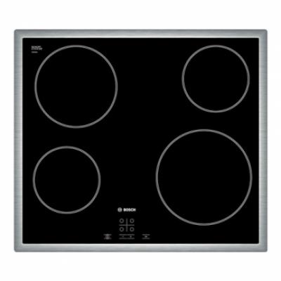BOSCH Ugradna ploča PKE645D17E  Crna, Staklokeramička, Senzorsko upravljanje (Na dodir)