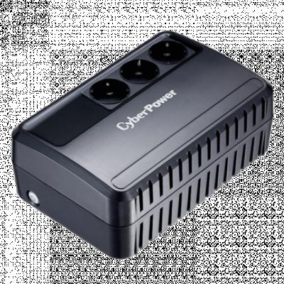 CYBERPOWER Backup Utility - BU600E  600VA / 360W, Line-Interactive, 165-280 VAC, 50/60 Hz +/- 5 Hz