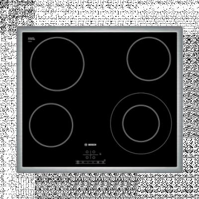 BOSCH Ugradna ploča PKF645B17E  Inox/Crna, Staklokeramička, Senzorsko upravljanje (Na dodir)