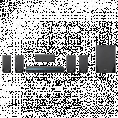 SONY 3D Blu-Ray kućni bioskop BDV-E2100  Kućni bioskop sa 3D Blu-ray plejerom, 5.1, Ugrađen