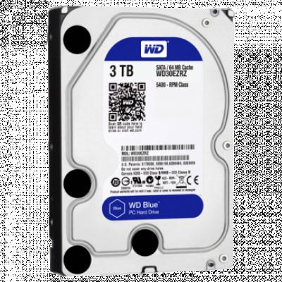 """Hard disk WD 3TB 3.5"""", SATA III, 64MB, 5400rpm, Blue - WD30EZRZ  Interni, 3.5"""", SATA III, 3TB HDD"""