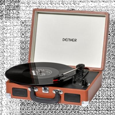 DENVER VPL-120 Gramofon (Braon)  33 1/3, 45, 78 o/min