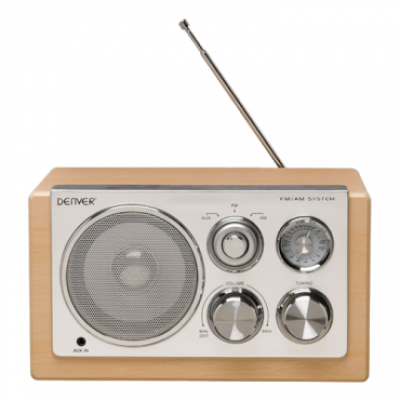 DENVER TR-61 Radio (Svetlo drvo)  Radio aparat