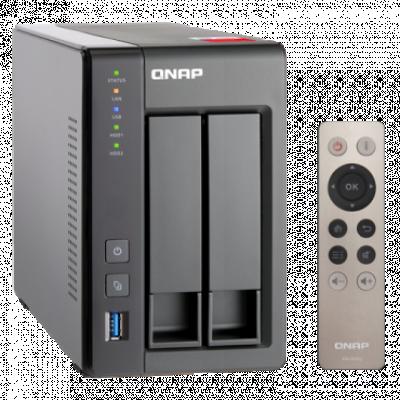 QNAP NAS storage TS-251+-2G  2 GB