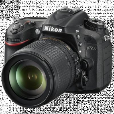 "Fotoaparat NIKON D7200 + 18-105mm VR  DSLR, 24.1 Mpix, 3.2"", CMOS"