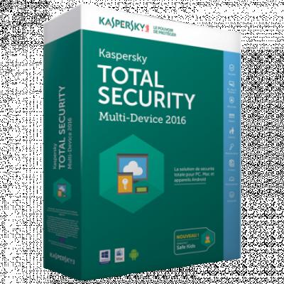Softver KASPERSKY Total Security - multi-device Dve licence (Pravna lica)  Poslovni korisnici