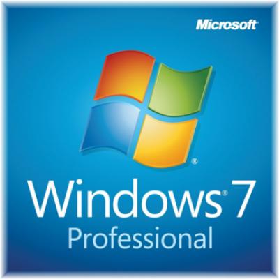 Operativni sistem WINDOWS GGK 7 Professional 32/64bit engleska verzija 6PC-00020  Windows 7 Professional 64bit, Legalizacijski (GGK)