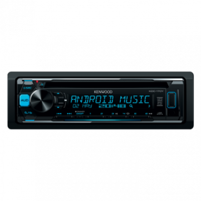 Auto radio KENWOOD KDC-170Y,  Tjuner/CD/USB/AUX, MOSFET 4 x 50W, MP3, WMA, WAV, FLAC, 1 DIN