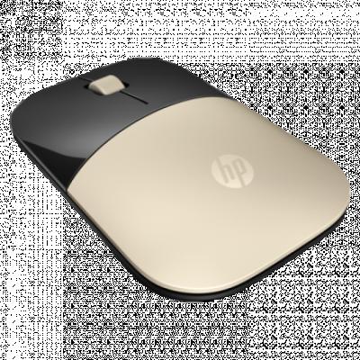 HP bežični miš Z3700 (Zlatni) - X7Q43AA  Optički, 1200dpi, 2.4GHz