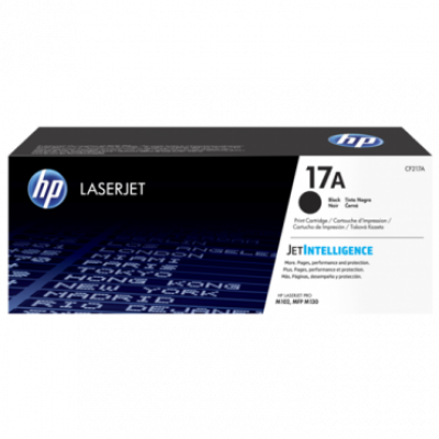 HP Toner 17A Black - CF217A
