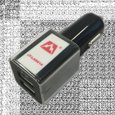 JETION JT-LAD014 Auto Punjač 2.1A + MicroUSB kabl  Auto punjač, 5 V, 1 A / 2.1 A, Crna