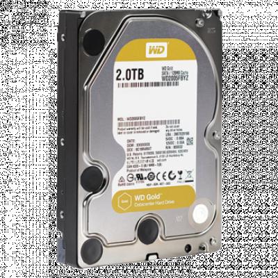 """Hard disk WD 2TB 3.5"""", SATA III, 128MB, 7200rpm, Gold serija - WD2005FBYZ  Interni, 3.5"""", SATA III, 2TB HDD"""