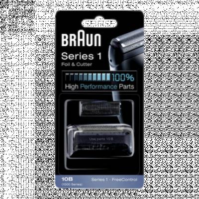 BRAUN Mrežica za brijač 10B + Nožić  Crna