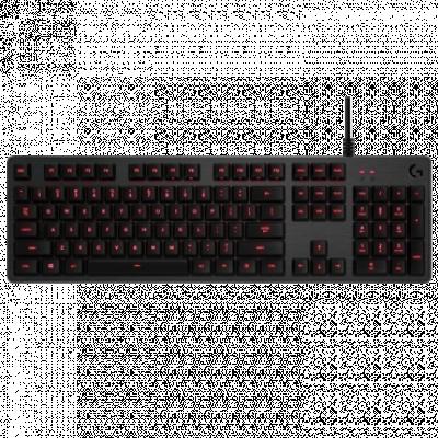 LOGITECH Gejmerska tastatura G413 CARBON (Crna) 920-008310  2x USB, Mehanički tasteri, Logitech Romer-G Tactile, EN (US)
