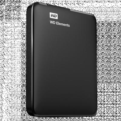 """WESTERN DIGITAL Elements WDBUZG0010BBK-WESN Eksterni HDD  1TB, Crna, 2.5"""", USB 3.0"""