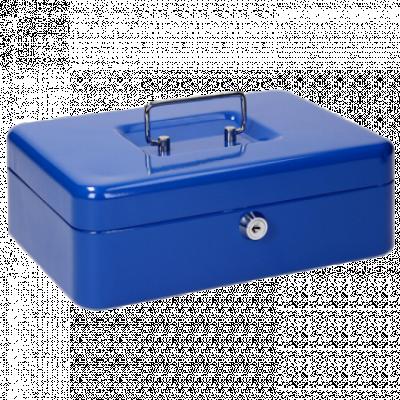 TIPTOP OFFICE Kasa za novac CB250 L - TTO 404309 (Plava)  Plava, L, Metal