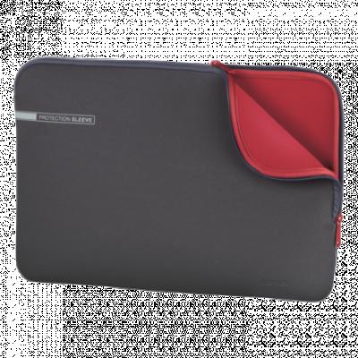 """HAMA futrola za laptop Neoprene (Siva/crvena) - 00101550  do 15.6"""""""