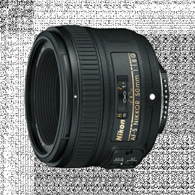 Objektiv NIKON AF-S NIKKOR 50mm f/1.8G - JAA015DA  Nikon F bajonet, Pun format, 50 mm, f/1.8