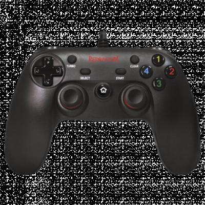 REDRAGON gamepad SATURN G807 (Crni)  Četvorosmerni kursor, USB, Windows, PlayStation