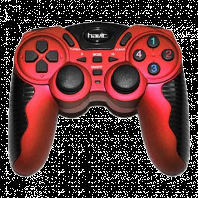 HAVIT gamepad HV 85G (Crveni)  Četvorosmerni kursor, USB, Windows, PlayStation