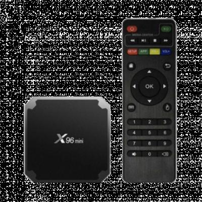 GEMBIRD X96 mini 2/16GB  Android TV Box, 2GB, 16GB, Crna