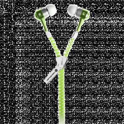 READY 2 MUSIC bubice ZIPZ LIGHT (Zelene) - R2MZLGREEN  3.5mm (četvoropolni), 10mm, 20Hz - 20KHz, 105dB