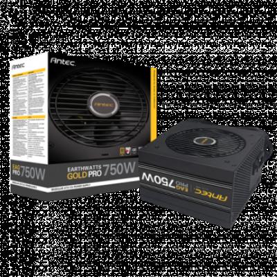 ANTEC napajanje EARTHWATTS GOLD PRO 750W - EA750G-Pro  750W, Semi-Modularno, ATX (PS2) , do 92% efikasnosti