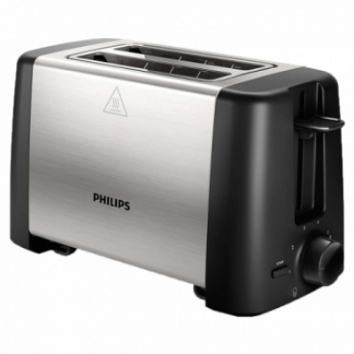 PHILIPS Toster HD4825/90  Crna/Inox, 7, 2, 800 W