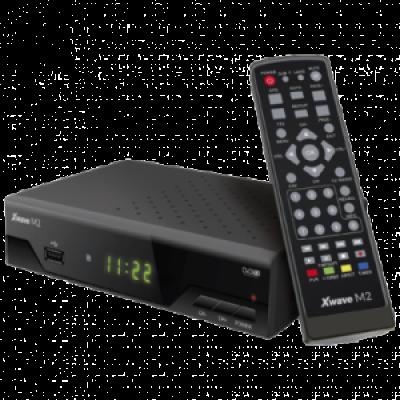 XWAVE Set Top Box M2  HDMI, Scart, Koaksijalni audio izlaz, USB 2.0, Crna