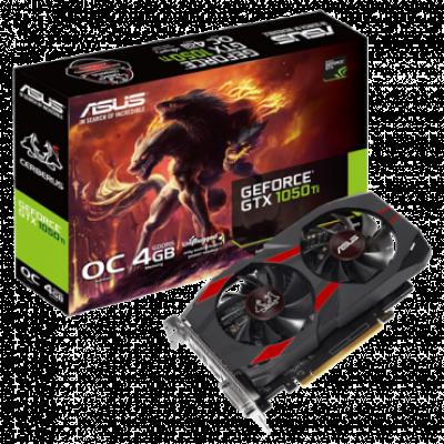 Grafička karta ASUS GeForce GTX 1050 Ti Cerberus OC 4GB GDDR5 128bit - CERBERUS-GTX1050TI-O4G  Nvidia GeForce GTX 1050 Ti, 4GB, GDDR5, 128bit
