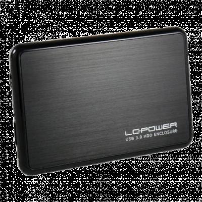 "LC-Power HDD Rack 2.5"", USB 3.0, SATA (Black) - LC-25BUB3  2.5"", SATA I / II / III, USB 3.0, 9.5mm"