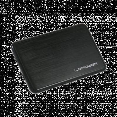 "LC-Power HDD Rack 2.5"", USB 2.0, SATA (Black) - LC-PRO-25BUB  2.5"", SATA I / II, USB 2.0, 9.5mm"