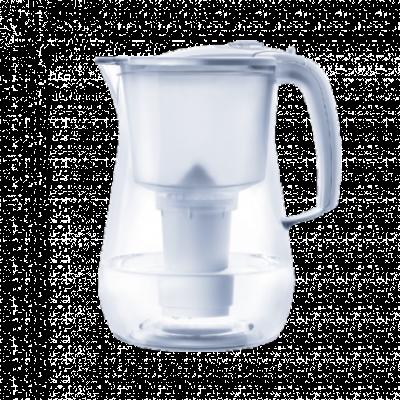 AKVAFOR - ONYX  Bela, Bokal za filtriranje vode