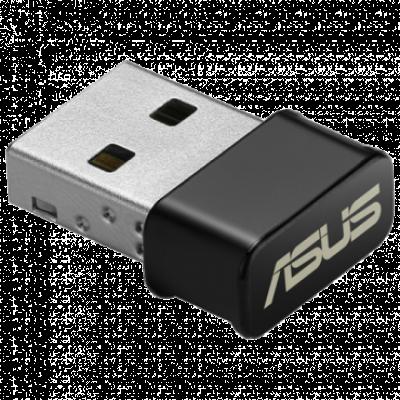 ASUS AC1200 Dual-band USB Wi-Fi Adapter - USB-AC53 Nano  USB, 802.11 a/ac, USB 2.0, do 1167Mbps