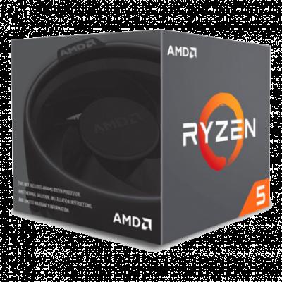 Procesor AMD Ryzen 5 2600 3.4 GHz (3.9GHz)  AMD® AM4, AMD® Ryzen 5, 6