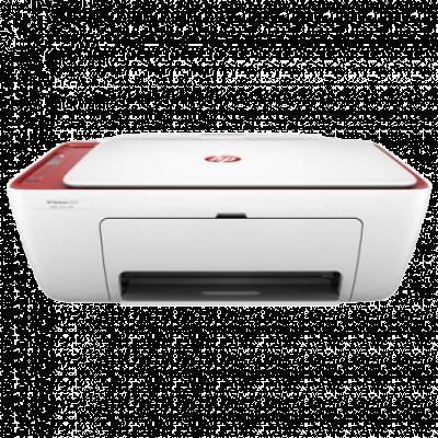 HP Štampač DeskJet 2633 Wireless All-in-One - V1N06B  Inkjet, Kolor, A4, Bela/Crvena