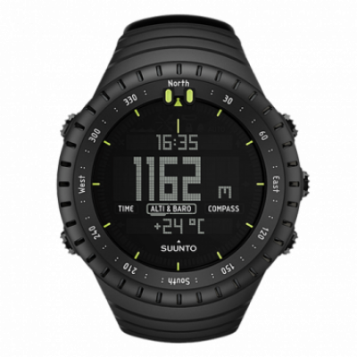 SUUNTO Sportski GPS sat Core All Black SS014279010  Crna, CR2032