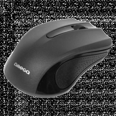 OMEGA OM-05B 3D Optical Mouse (Black)  Optički, 1000dpi, Simetričan (pogodan za obe ruke), Crna