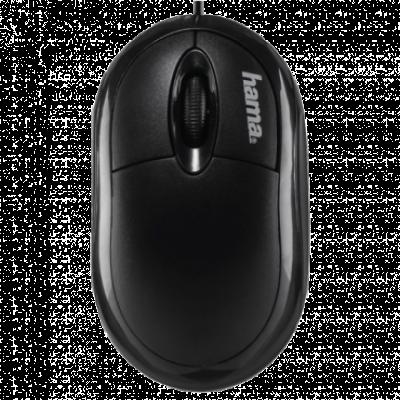 HAMA optički miš AM-8300 (Crni) - 134951  Optički, 800dpi, Simetričan (pogodan za obe ruke), Crna