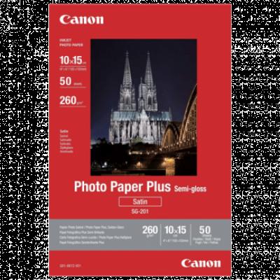 CANON Foto papir SG-201S  10 x 15 cm, 50 listova, 260 g/m²