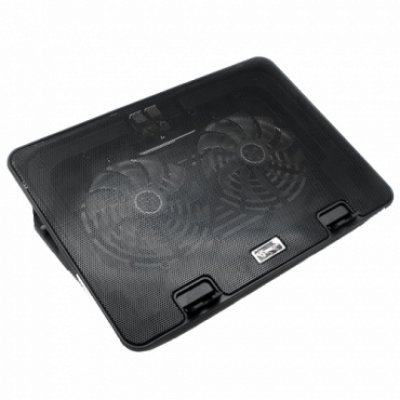 "S-BOX Postolje za hlađenje laptopa CP-101  do 15.6"", 800~1000±10%RPM, 20 CFM, Crna"