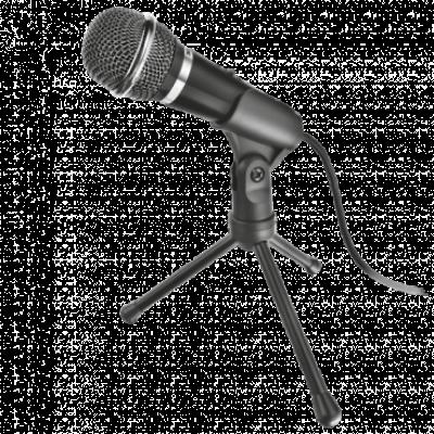 TRUST mikrofon STARZZ (Crni) - 21671