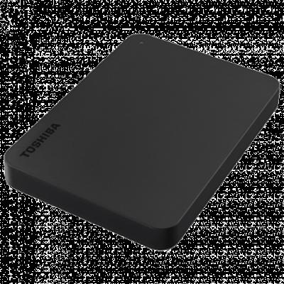 """TOSHIBA CANVIO BASIC HDTB410EK3AA Eksterni HDD  1TB, Crna, 2.5"""", USB 3.0"""
