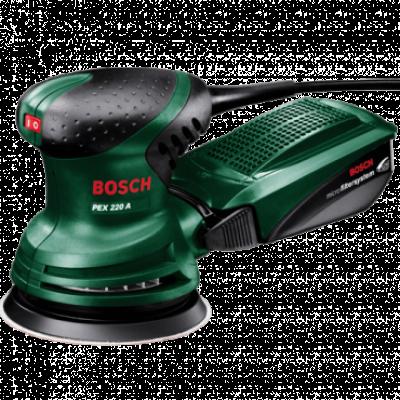 BOSCH ekscentar brusilica PEX 220 A - 0603378020  220 W, 125 mm, 1,25 mm