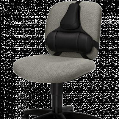 FELLOWES Potpora za leđa Professional Series Ultimate 8041801 (Crna)  Tekstil, Crna, za cela leđa