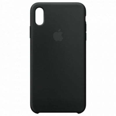 APPLE - MRWE2ZM/A - Black -  Zaštitna maska, iPhone XS MAX, Silikon, Crna