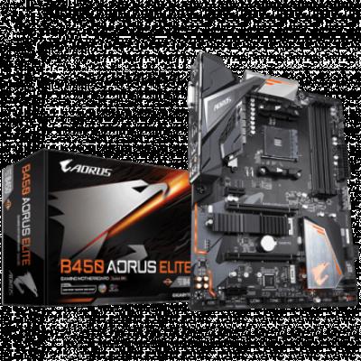 Matična ploča GIGABYTE B450 AORUS ELITE  AMD, AMD® AM4, AMD® B450, ATX