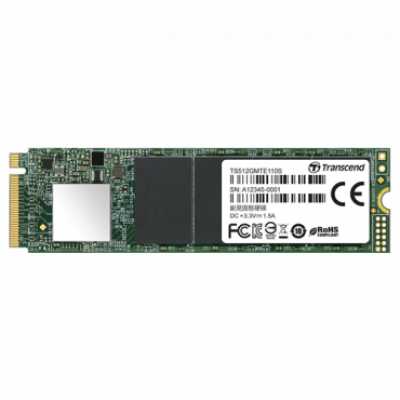 TRANSCEND SSD 110S serija - TS512GMTE110S  512GB, M.2 2280, PCIe, do 1800 MB/s