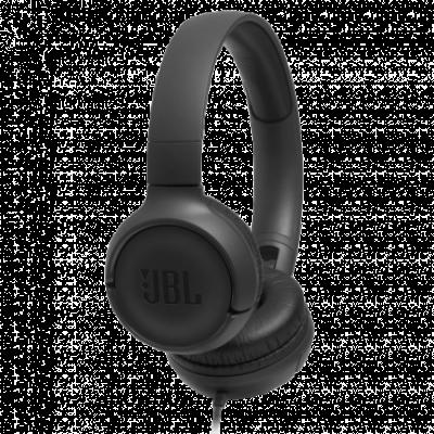 JBL slušalice Tune 500 (Crne)  3.5mm (četvoropolni), 20Hz - 20KHz, 32mm, 1.2m